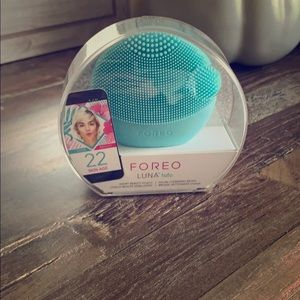 FOREO facial cleansing brush.